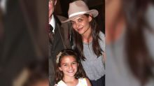 Katie Holmes Hits NYFW in a Sheer LBD That Will Make You So Happy