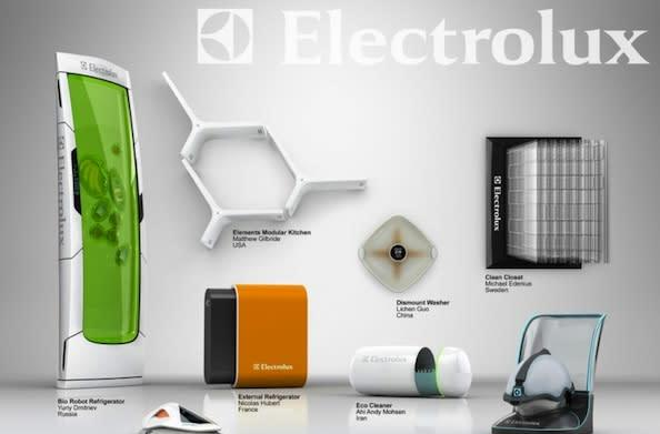 Electrolux Design Lab 2010 competition finalists: the future's so bright...