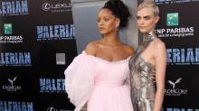 Cara Delevingne und Rihanna: Ritterrüstung trifft auf Knallbonbon
