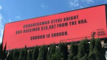 13 Billboards Call Out How Much Money Politicians Got From The NRA
