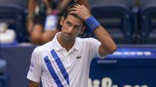 'I deserved it': Djokovic gets obscenity warning in SF win