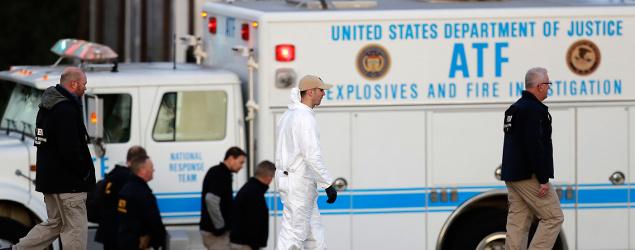 Austin bombing suspect left video message on phone. (AP)