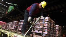 La guerra comercial sigue golpeando el precio del cobre, que cae un 1,8 por ciento en la semana