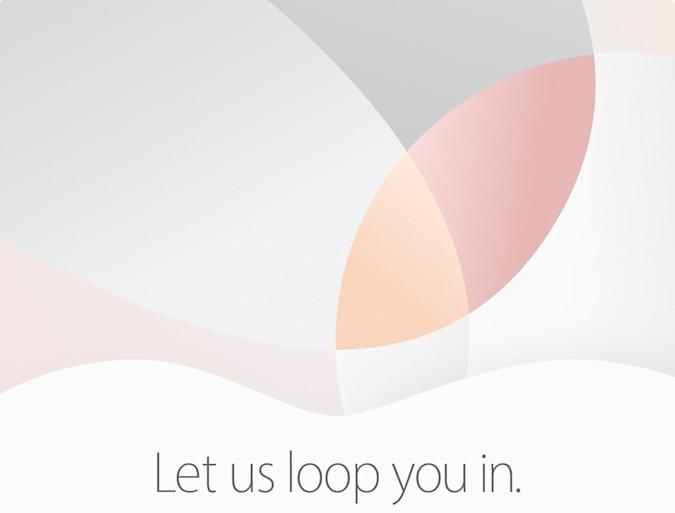 Apple schedules a March 21st event to 'loop us in'