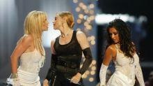 Christina Aguilera se sintió 'ninguneada' en el beso de Madonna y Britney