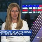 Meg Whitman to leave role as HP Enterprise CEO
