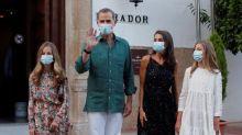 Los reyes, ante una atípica estancia en Palma por Juan Carlos I y la pandemia