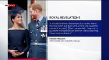 Harry and Meghan book reveals royal rift