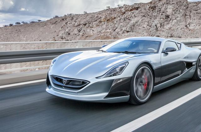 Rimac's electric hypercar will be shown off in March