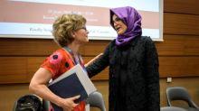Khashoggi fiancee says US 'ethically' responsible to seek justice