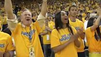 Golden State Warriors fans can crank up the volume