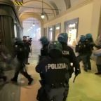 Italy sees violent protests against restrictions