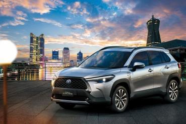 10/12正式上市前預接單突破3,000台、HYBRID 佔 41%,Toyota Corolla Cross 戰力滿檔!