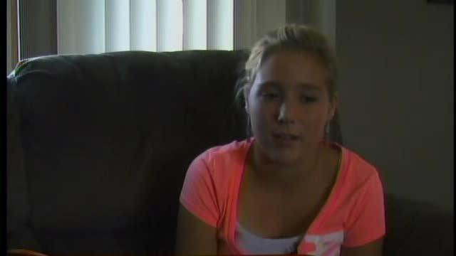 Teen rescues family