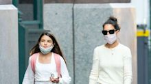 Suri Cruise Looks So Grown Up During NYC Outing With Katie Holmes