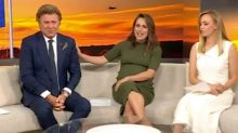 Today's Richard Wilkins in tears on air over Anzac Day photos
