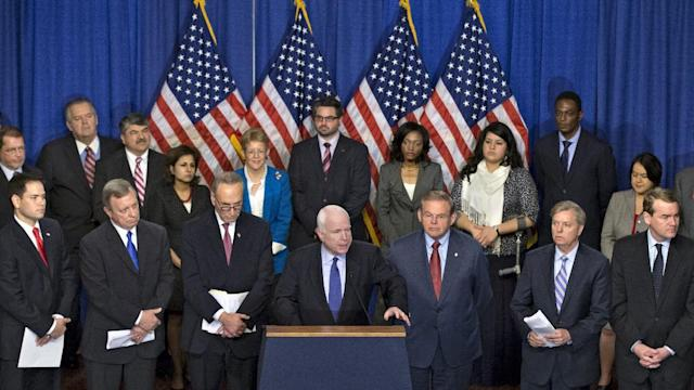 Senators Unveil Immigration Bill, Vow Passage