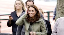 Kate Middleton regresa al trabajo con look muy casual