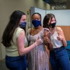 New York teens get vaccinated against COVID-19