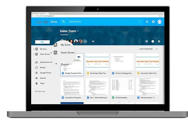 Google refines Drive for large businesses