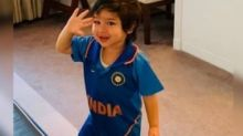This Pic of Taimur Celebrating India's Victory Will Make Your Day!