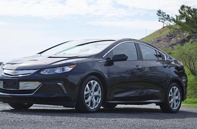 The Chevy Volt is a fun hybrid that tiptoes into the future