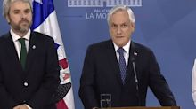"Tensión en Chile. Piñera llama a un gran pacto: ""Esta situación debe terminar"""