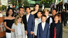 Angelina Jolie (and her six stylish kids) bring the glamour to Toronto Film Festival