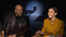 Common and Ruby Rose Got Bruised Fighting Keanu Reeves in 'John Wick'