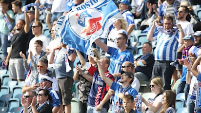 """Volle Ränge, keine Masken: """"Corona-Roulette"""" bei Hansa-Rostock-Spiel"""