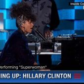 "Alicia Keys Dedicates ""Superwoman"" to Mothers of the Movement at DNC"