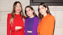 Haim Color-Coordinates Yet Again—This Time, in Versace