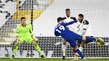 Mason Mount gives Frank Lampard a lift as Chelsea finally break down 10-man Fulham