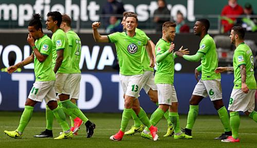 Bundesliga: Wolfsburg bremst den FC Ingolstadt aus