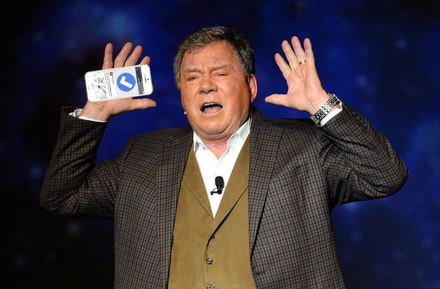 William Shatner reviews Facebook's new VIP-only Mentions app