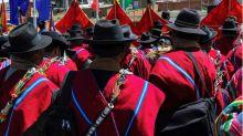 Los Ponchos Rojos, la milicia aymara retaguardia de Evo