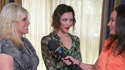 Are Katharine McPhee And Megan Hilty Ready For The Golden Globes?