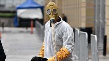 Howie Mandel wears hazmat suit to 'America's Got Talent' taping as fellow judge Heidi Klum falls ill on set