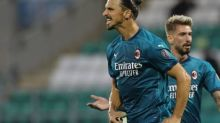 Foot - C3 - Ligue Europa: l'ACMilan qualifié, Ibrahimovic buteur