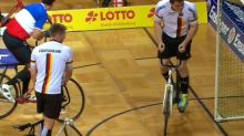 Cycleball combines cycling and soccer into one intense sport