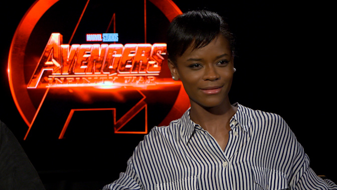Letitia Wright is superpsyched about being labeled a Disney princess