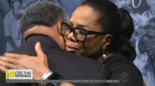 Even Gayle King cried during Oprah Winfrey's visit to her exhibit
