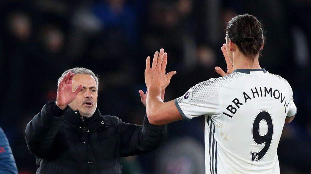 """Jose Mourinho: """"Ich war nicht von Zlatan enttäuscht"""""""