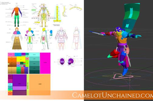 Camelot Unchained's latest newsletter tackles player-built structures