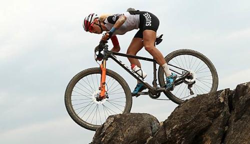 Radsport: Mountainbike-WM: Spitz nur auf Rang 32