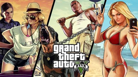 GTA5 tops PS4 digital sales charts for December