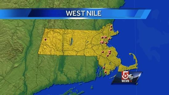Threat of West Nile virus grows in Mass.