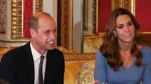 Prince William and Kate Middleton Meet with Ukraine's President and First Lady at Buckingham Palace