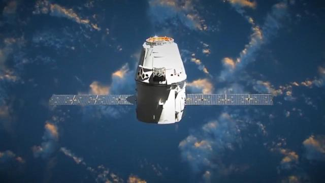 SPACEX CARGO LAUNCH A 'GO'