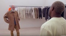 David Letterman Gets A Yeezy Makeover From Kanye West, And It Is WORKING